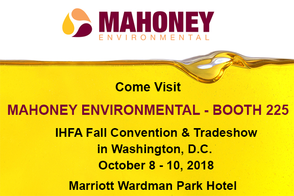 Come Visit Mahoney At IHFA's Fall Convention