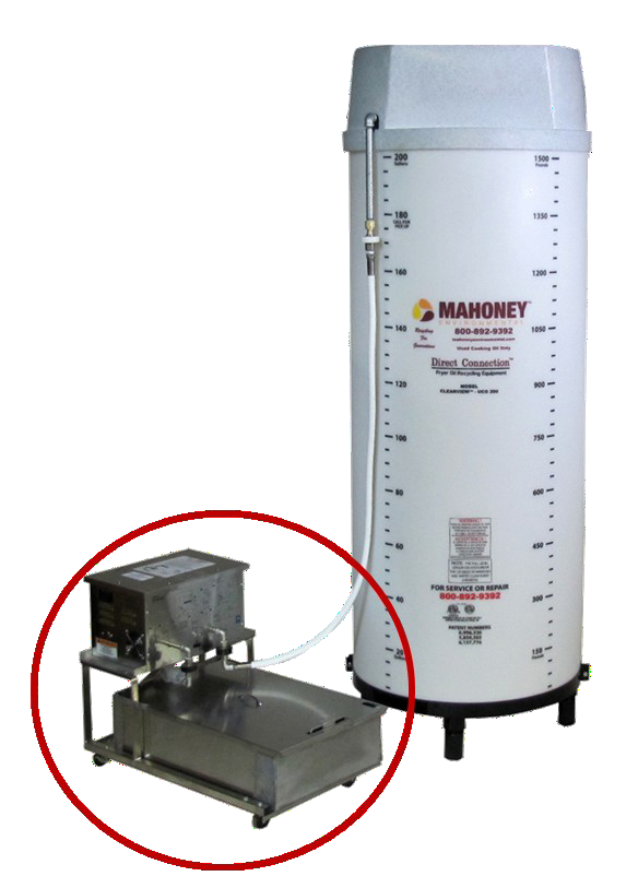 portable cooking oil filter machine for restaurants - PFM